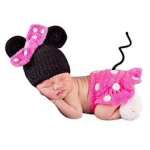 Other - NEWBORN PHOTO PROP PINK MOUSE